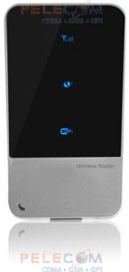 3G WiFi роутер EVDO Rev. B + HSDPA