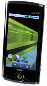 Sanyo SCP-8600 Zio - недорогой 3G смартфон на Android