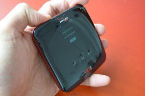 Превосходный дизайн в ZTE 890L сочетается с функциональными удобствами, такими как сенсорные кнопки управления.