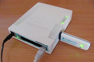 3G модем и роутер