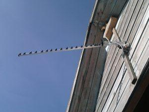 Пример установки 3G антенны в частном доме